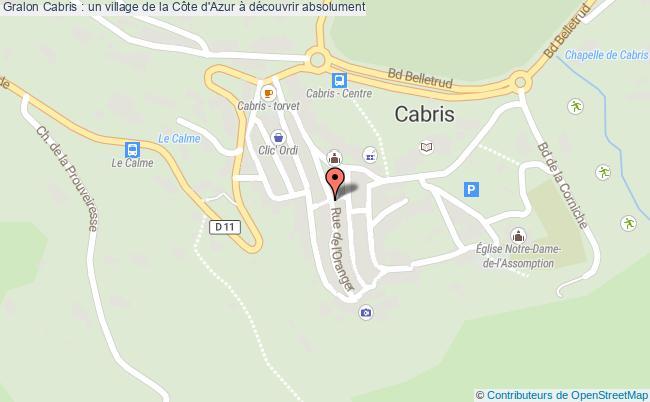plan Cabris : Un Village De La Côte D'azur à Découvrir Absolument
