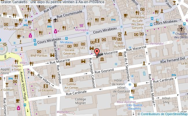 plan Canaletto : Une Expo Du Peintre Vénitien à Aix-en-provence