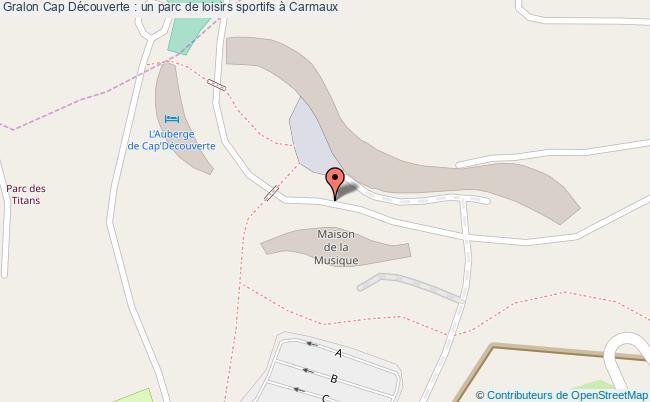 plan Cap Découverte : Un Parc De Loisirs Sportifs à Carmaux