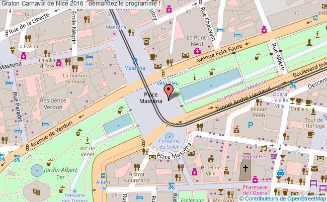 plan Carnaval De Nice 2016 : Demandez Le Programme !