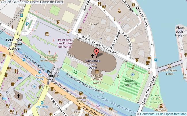 plan Cathédrale Notre Dame De Paris