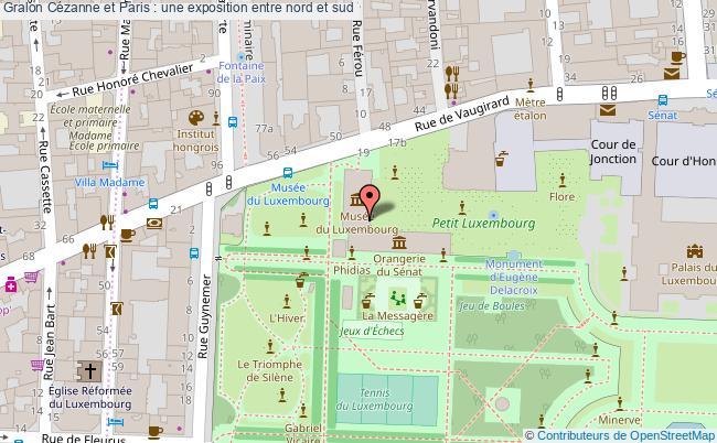 plan Cézanne Et Paris : Une Exposition Entre Nord Et Sud