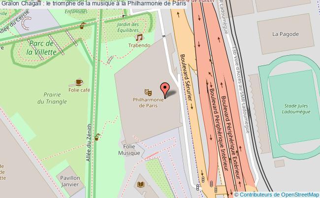 plan Chagall : Le Triomphe De La Musique à La Philharmonie De Paris