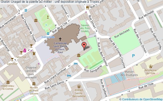 plan Chagall De La Palette Au Métier : Une Exposition Originale à Troyes