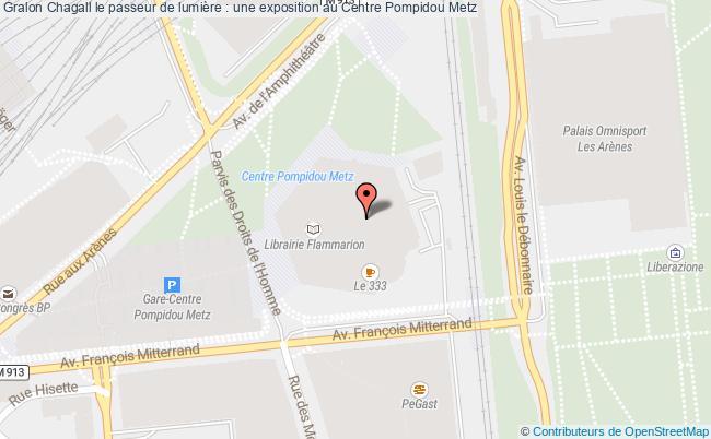 plan Chagall Le Passeur De Lumière : Une Exposition Au Centre Pompidou Metz