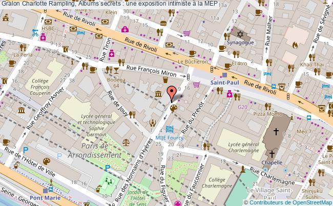 plan Charlotte Rampling, Albums Secrets : Une Exposition Intimiste à La Mep