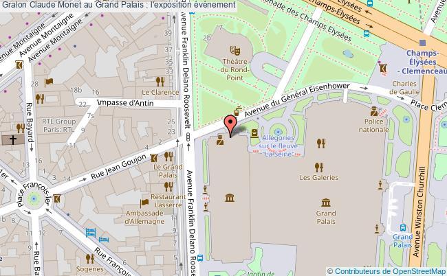 plan Claude Monet Au Grand Palais : L'exposition événement