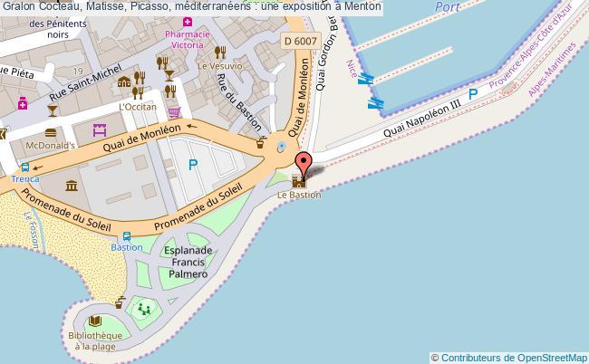 plan Cocteau, Matisse, Picasso, Méditerranéens : Une Exposition à Menton