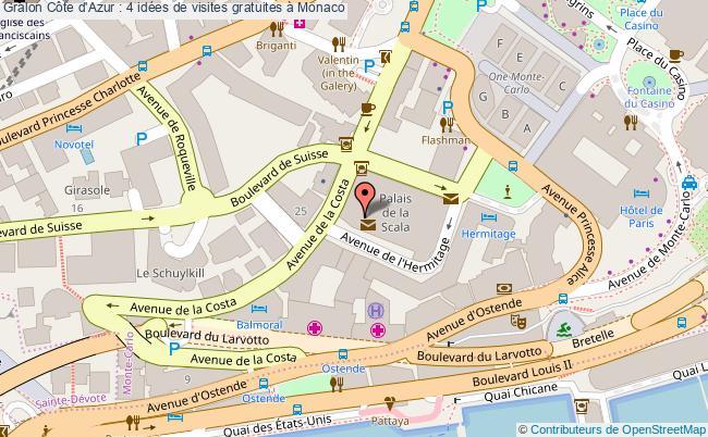plan Côte D'azur : 4 Idées De Visites Gratuites à Monaco