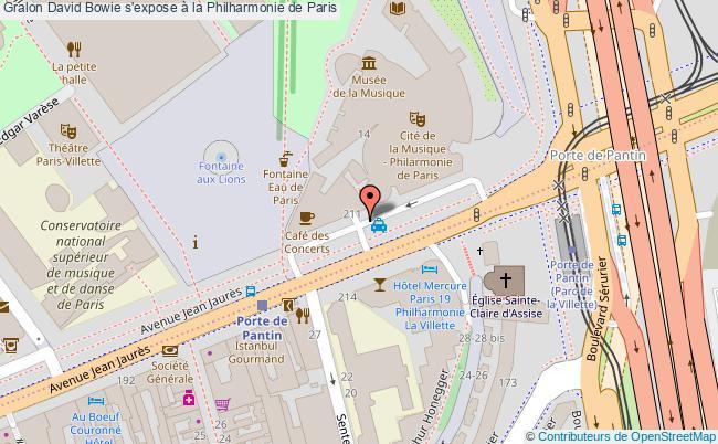 plan David Bowie S'expose à La Philharmonie De Paris