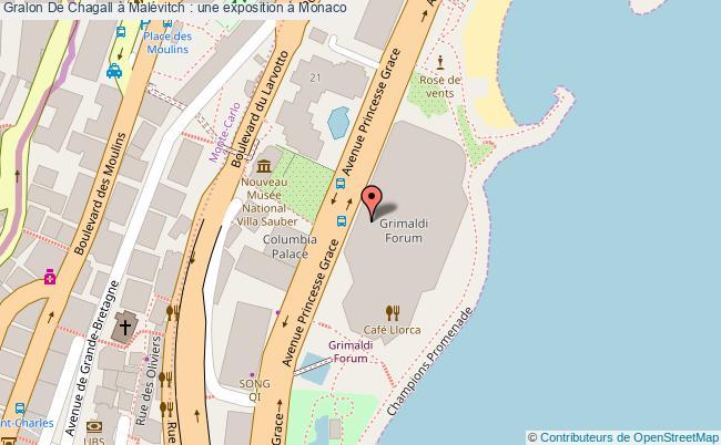 plan De Chagall à Malévitch : Une Exposition à Monaco
