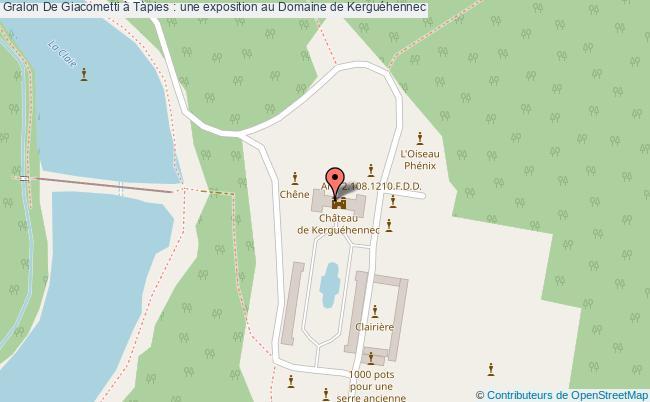 plan De Giacometti à Tàpies : Une Exposition Au Domaine De Kerguéhennec