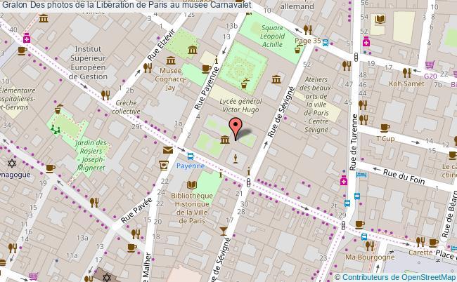 plan Des Photos De La Libération De Paris Au Musée Carnavalet