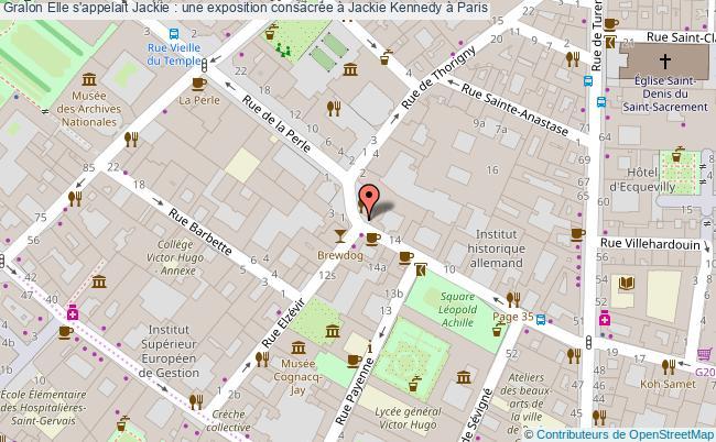 plan Elle S'appelait Jackie : Une Exposition Consacrée à Jackie Kennedy à Paris