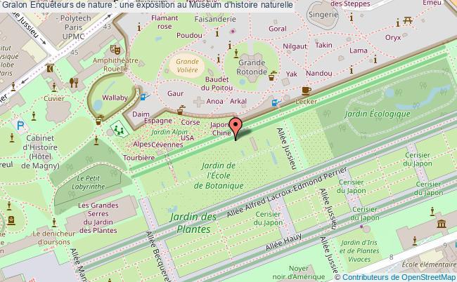 plan Enquêteurs De Nature : Une Exposition Au Muséum D'histoire Naturelle