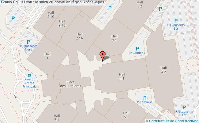plan Equita'lyon : Le Salon Du Cheval En Région Rhône-alpes