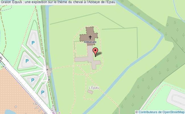 plan Equus : Une Exposition Sur Le Thème Du Cheval à L'abbaye De L'epau