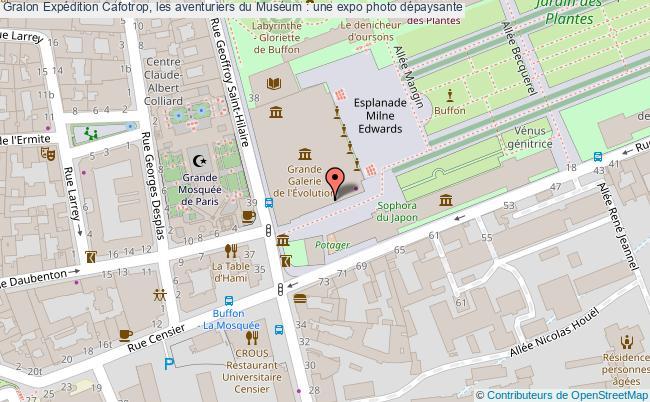 plan Expédition Cafotrop, Les Aventuriers Du Muséum : Une Expo Photo Dépaysante