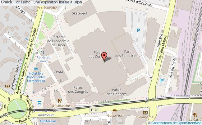plan Florissimo : Une Exposition Florale à Dijon
