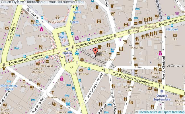 plan Flyview : L'attraction Qui Vous Fait Survoler Paris