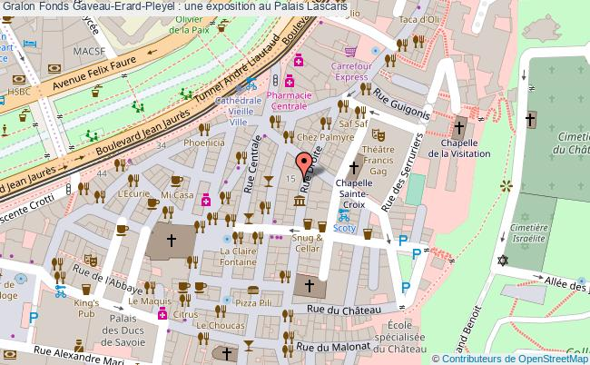 plan Fonds Gaveau-erard-pleyel : Une Exposition Au Palais Lascaris