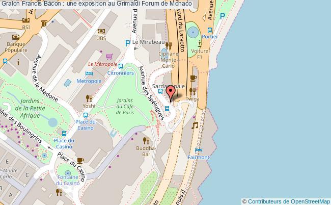 plan Francis Bacon : Une Exposition Au Grimaldi Forum De Monaco