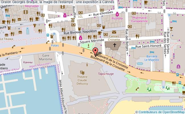 plan Georges Braque, La Magie De L'estampe : Une Exposition à Cannes