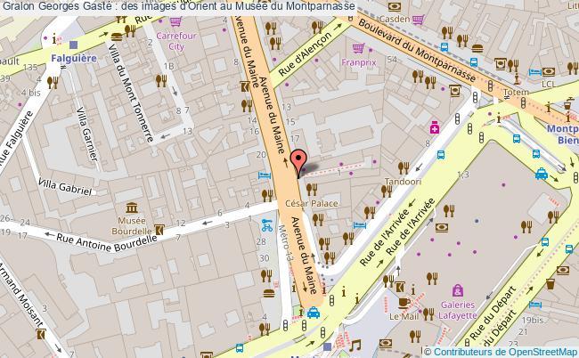 plan Georges Gasté : Des Images D'orient Au Musée Du Montparnasse