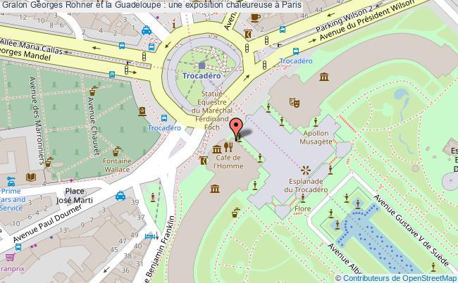 plan Georges Rohner Et La Guadeloupe : Une Exposition Chaleureuse à Paris