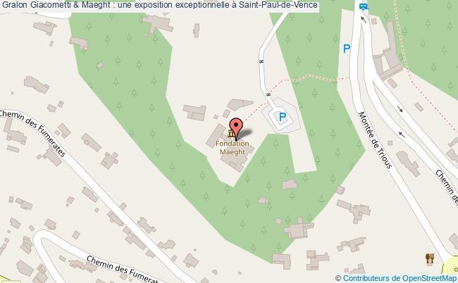 plan Giacometti & Maeght : Une Exposition Exceptionnelle à Saint-paul-de-vence