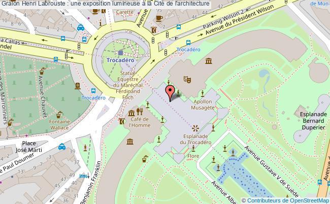 plan Henri Labrouste : Une Exposition Lumineuse à La Cité De L'architecture