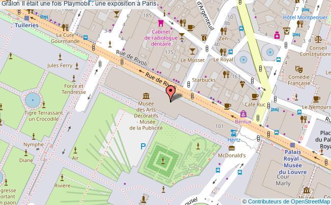 plan Il était Une Fois Playmobil : Une Exposition à Paris