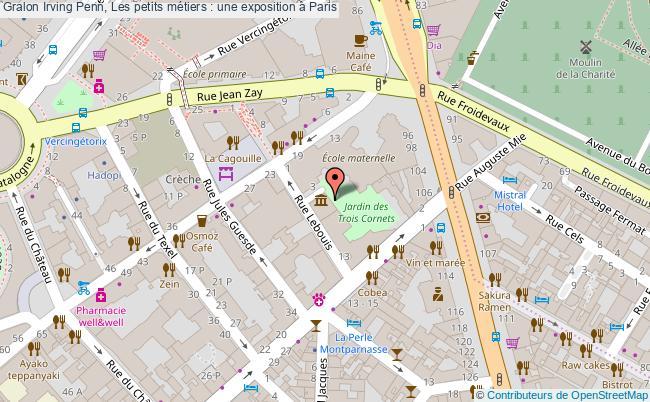 plan Irving Penn, Les Petits Métiers : Une Exposition à Paris