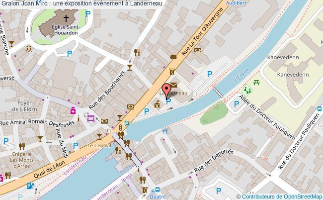 plan Joan Miró : Une Exposition événement à Landerneau