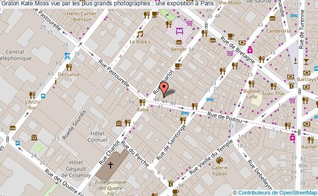 plan Kate Moss Vue Par Les Plus Grands Photographes : Une Exposition à Paris