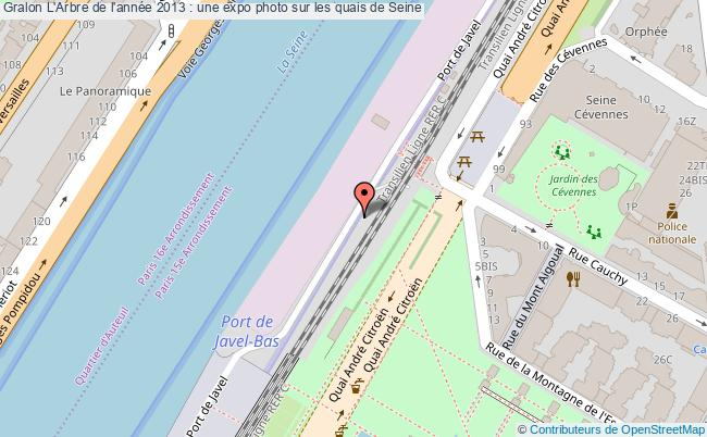 plan L'arbre De L'année 2013 : Une Expo Photo Sur Les Quais De Seine