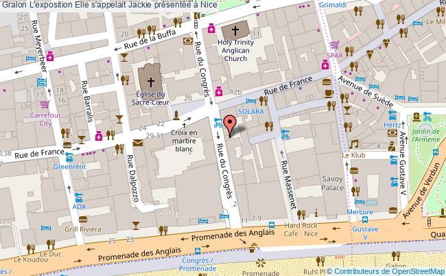 plan L'exposition Elle S'appelait Jackie Présentée à Nice
