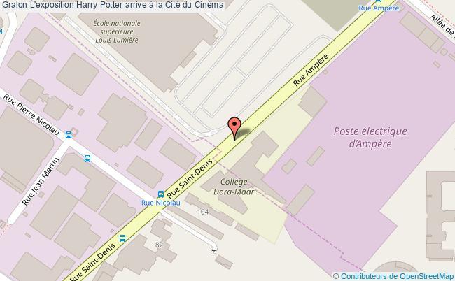 plan L'exposition Harry Potter Arrive à La Cité Du Cinéma