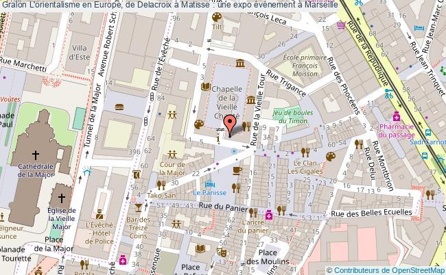 plan L'orientalisme En Europe, De Delacroix à Matisse : Une Expo événement à Marseille