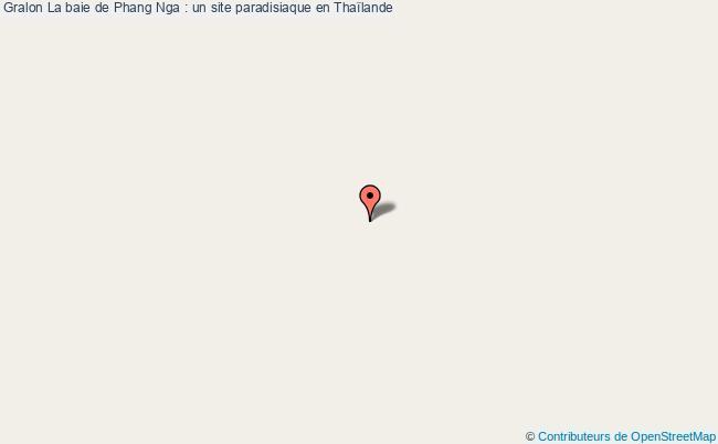 plan La Baie De Phang Nga : Un Site Paradisiaque En Thaïlande