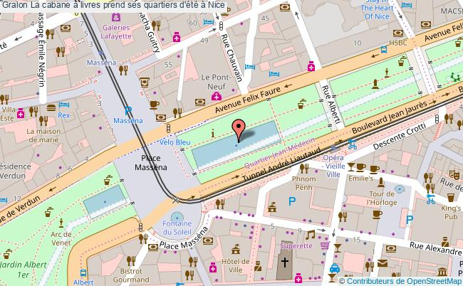 plan La Cabane à Livres Prend Ses Quartiers D'été à Nice