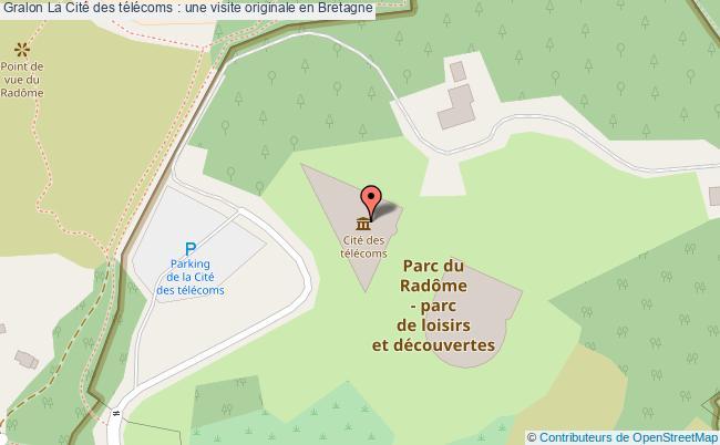plan La Cité Des Télécoms : Une Visite Originale En Bretagne