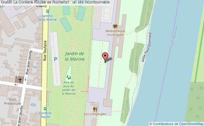 plan La Corderie Royale De Rochefort : Un Site Incontournable