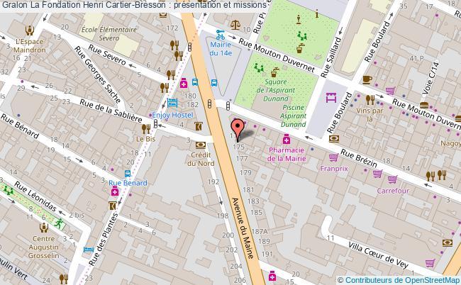 plan La Fondation Henri Cartier-bresson : Présentation Et Missions