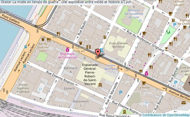plan La Mode En Temps De Guerre : Une Exposition Entre Mode Et Histoire à Lyon