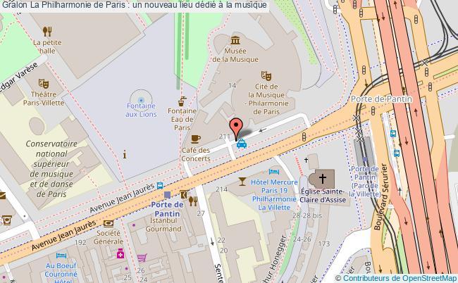 plan La Philharmonie De Paris : Un Nouveau Lieu Dédié à La Musique