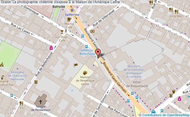 plan La Photographie Chilienne S'expose à La Maison De L'amérique Latine