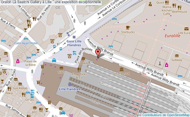 plan La Saatchi Gallery à Lille : Une Exposition Exceptionnelle