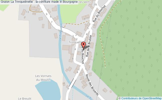 plan La Trinquelinette : La Confiture Made In Bourgogne