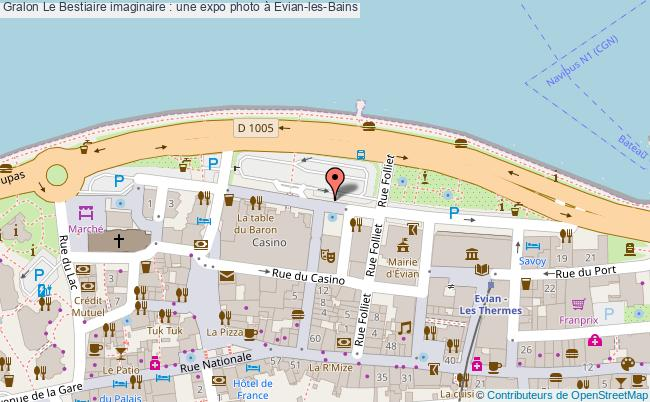 plan Le Bestiaire Imaginaire : Une Expo Photo à Evian-les-bains